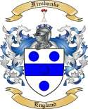 Firebanke Family Coat of Arms from England