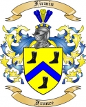 Firmin Family Crest from France2