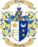 Fissher Family Crest from Germany