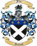Fitz Family Coat of Arms from Ireland