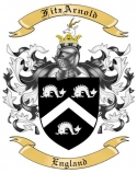 FitzArnold Family Coat of Arms from England