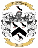 FitzThomas Family Coat of Arms from Wales