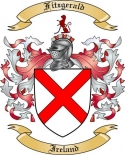 Fitzgerald Family Crest from Ireland