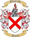 Fitzgeralds Family Coat of Arms from Ireland