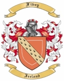 Fivey Family Coat of Arms from Ireland