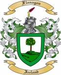 Flanagan Family Crest from Ireland