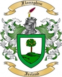 Flanaghan Family Crest from Ireland