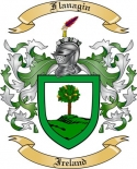 Flanagin Family Crest from Ireland