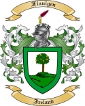 Flanigen Family Coat of Arms from Ireland