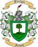 Flanigen Family Crest from Ireland