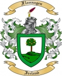Flannagen Family Crest from Ireland