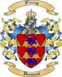 Flarup Family Crest from Denmark