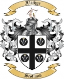 Flechyr Family Coat of Arms from Scotland