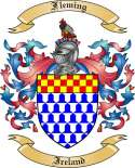 Fleming Family Crest from Ireland