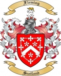Fleming Family Crest from Scotland