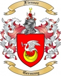 Flenner Family Coat of Arms from Germany