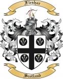 Fleshar Family Crest from Scotland