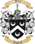 Flint Family Crest from England