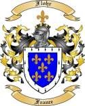 Flohr Family Coat of Arms from France