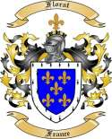 Florat Family Coat of Arms from France