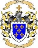 Floret Family Crest from France