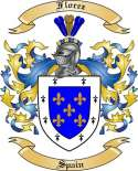 Florez Family Coat of Arms from Spain