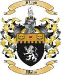 Floyd Family Crest from Wales