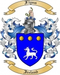 Flynn Family Crest from Ireland