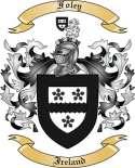 Foley Family Coat of Arms from Ireland