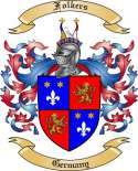 Folkers Family Crest from Germany