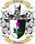 Folkerth Family Coat of Arms from Germany