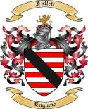 Follett Family Coat of Arms from England2