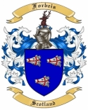 Forbeis Family Coat of Arms from Scotland