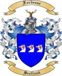 Forbesse Family Coat of Arms from Scotland