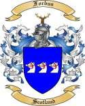 Forbus Family Crest from Scotland