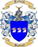 Forbush Family Crest from Scotland