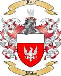 Ford Family Coat of Arms from Wales