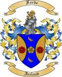 Forde Family Crest from Ireland