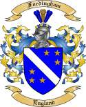 Fordingham Family Crest from England