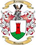 Foreman Family Coat of Arms from Germany
