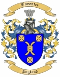 Forester Family Coat of Arms from England