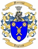 Forrest Family Coat of Arms from England