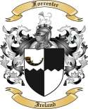 Forrester Family Crest from Ireland