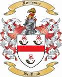 Forrester Family Coat of Arms from Scotland