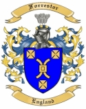 Forrestor Family Crest from England