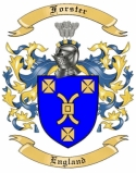 Forster Family Coat of Arms from England