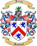 Forsy Family Crest from Scotland