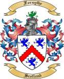 Forsythe Family Crest from Scotland