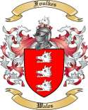 Foulkes Family Crest from Wales