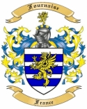 Fournaise Family Crest from France